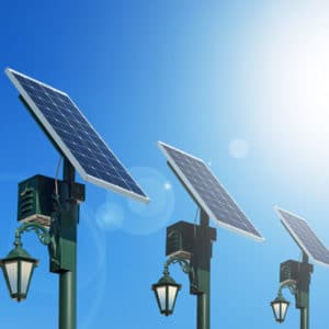 Solar Lights with charging station