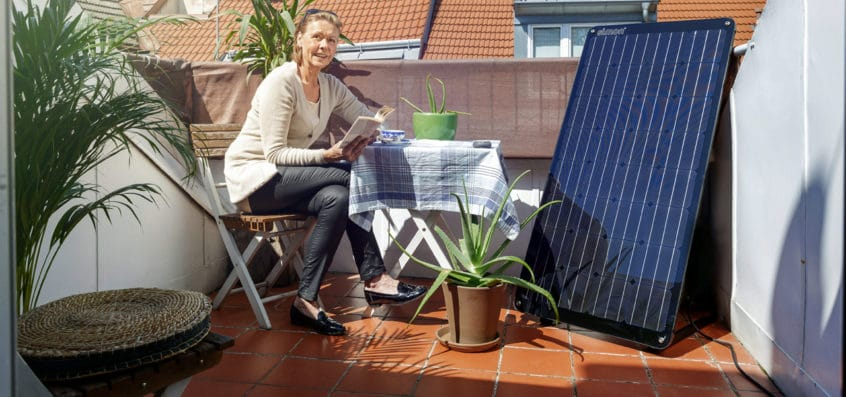 Indoor Solar Charging System called Simon